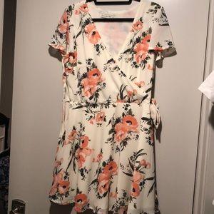 A&F Wrap Floral Dress